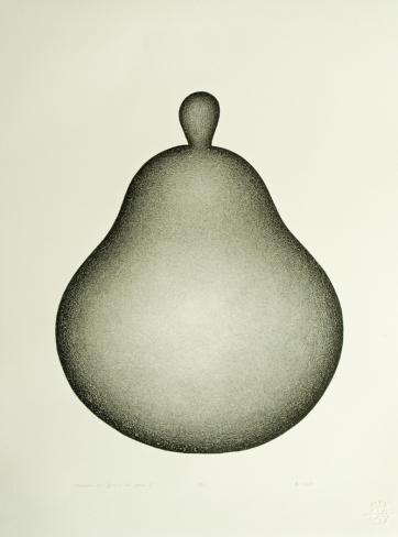 Morceau en forme de poire I (2016)